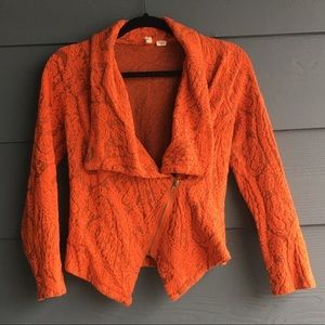 Anthropologie/ Moth Paisley Gust Sweater Jacket